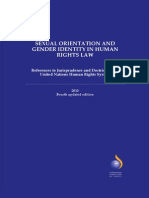 Sexual Orientation and Gender Identity in Human Rights Law