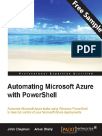 Automating Microsoft Azure with PowerShell - Sample Chapter
