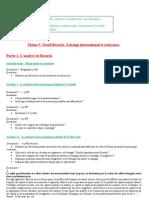 option term david ricardo 2009-2010