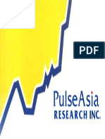Pulse Asia Survey-2016 Elections Presidential Preference