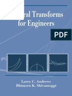 Integral Transform for Engineers
