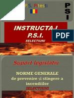 Instructaj PSI