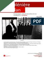 Compte-rendu de plénière - mars 2015