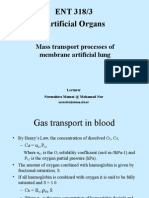 9 Mass Transport Processes in Artificial Organs