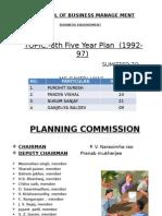 8th Year Plan