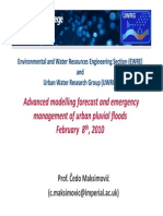 Maksimovic - Advanced Modelling Forecast and Emergency Management