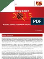 ABG Union Budget 2015-2016- 280215