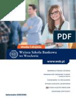 Informator 2015 - studia I stopnia - Wyższa Szkoła Bankowa we Wrocławiu.pdf