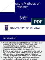 Lecture 6 Participatory Research Methods(1)