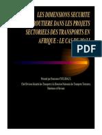 8746,9-Secrout Et Pst Au Mali -Coulibaly