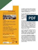 Brochure Mesa Redonda
