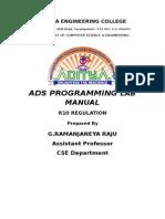 Ads r10 Main Index