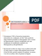 DETERMINAREA VSH