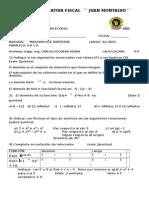 Supletorio Matemática Superior 27 Febrero  2015