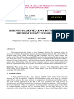 Designing Phase Frequency Detector Using Different Design Technologies