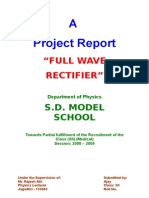 Full Wave Rectifier (Physics)