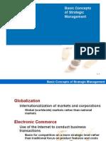 Basic Concepts of Strategic Mgt-component, SWOT