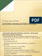 Leucemia Granulocitara Cronica