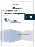 Centralized Admission System Management