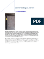 Forcible Entry Techniques From the Experts