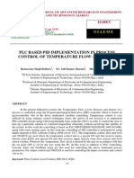Plc Based Pid Implementation in Process Control of Temperature Flow and Level
