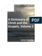 Dictionary of Christ and the Gospels, Volume 2