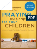 Praying for Your Children Scriptures