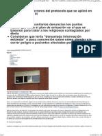Los Tres Grandes Errores Del Protocolo Que Se Aplicó en El Hospital Carlos III _ 2 Pags
