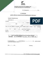 Cerere Eliberare Extras de Carte Funciara Pentru Informare Anexa22