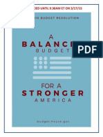 House GOP Budget