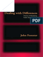 [John Forester] Dealing With Differences