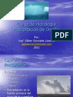 Hidrologia Clase 11 Precipitacion de Diseño