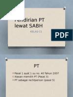 PENDIRIAN PT LEWAT SABH.pptx