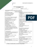 Evaluación Matemática Sep 4º-5º