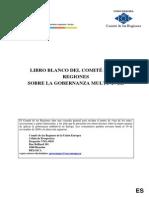 Libro Blanco Sobre Gobernanza Multinivel