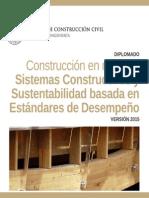 Diplomado en Construcción en madera
