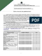 Edital Nº 08-2014 - Regulamento Do Concurso Público Para Professor Do Ifnmg