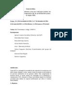 Grupo de Trabajo 2014-2015
