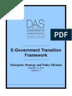 Trans is It on Framework Jan 202010