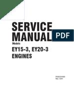 EY15-3 Service Manual