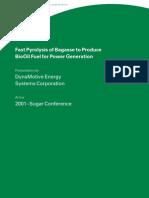 2001 Sugar Conference Paper