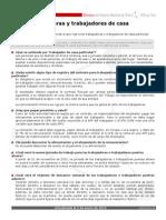 Ficha Nueva Ley Trabajadores y Trabajadoras Casa Particular
