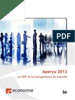 Apercu 2013-Le SPF Et La Transparance Du Marche Tcm326-249774