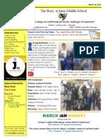 Newsletter Mar 16