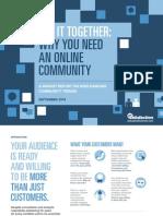 2014 Market Report Online Community Trends GetSatisfaction