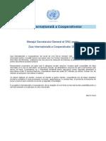 Mesaj ONU Cooperativa 2014