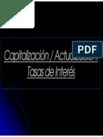Capitalización - Actualización (Clase 2) Srbib
