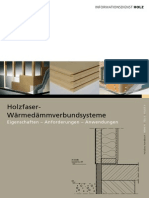 Holzfaser-Waermedaemmverbundsysteme