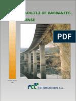 Viaducto de Barbantes (Orense) FCC