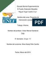 8.- Informe de Las Caracteristicas Del 2 Al 12 de Marzo de 2015